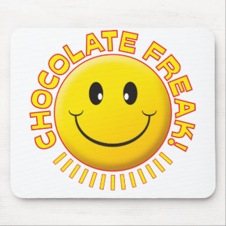 Chocolate Freak Smile Mousemat
