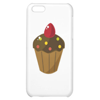 Chocolate Frosted Cupcake iPhone 5C Case