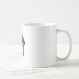 Chocolate Frosted Cupcake Mug
