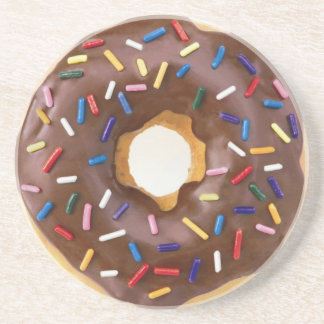 Chocolate Frosted Donuts Coaster