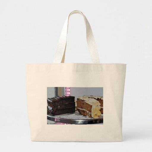 Chocolate Fudge and Carrot Cake - illustrated Bag