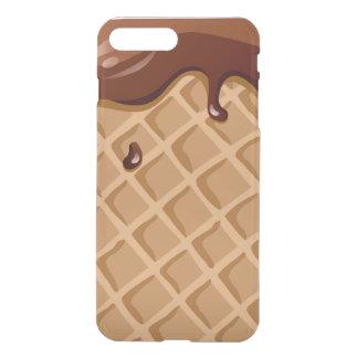 Chocolate Fudge Waffle Cone iPhone 7 Plus Case