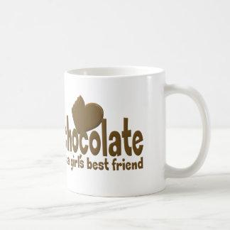 Chocolate Girl's Best Friend Coffee Mug