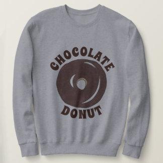 Chocolate Glazed Cake Doughnut Donut Breakfast Sweatshirt