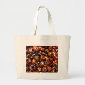 Chocolate Habanero Large Tote Bag