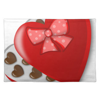 Chocolate Heart Box Placemat