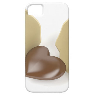 Chocolate heart case for the iPhone 5