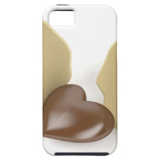 Chocolate heart iPhone 5 cover