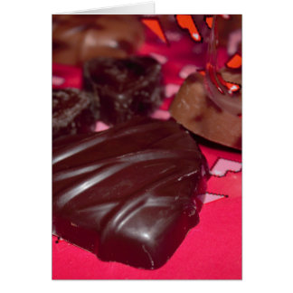 Chocolate Hearts Card