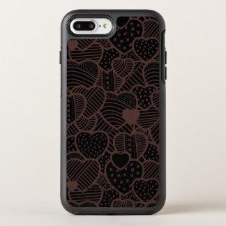 Chocolate Hearts Valentine's Day | Phone Case