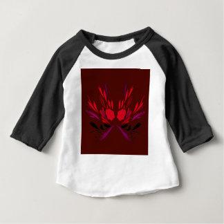 Chocolate henna tattoo design baby T-Shirt