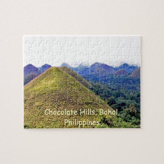 Chocolate Hills Puzzle