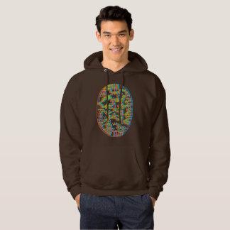 Chocolate hood hoodie