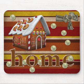 Chocolate house mousepad