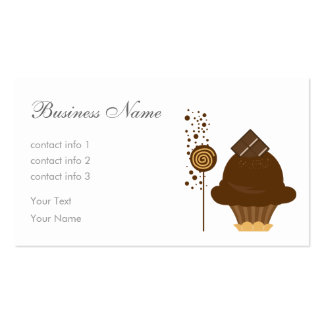 Chocolate Ice Cream Business Card Templates