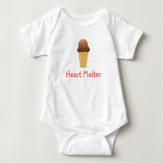 Chocolate Ice Cream Cone Onepiece Tees