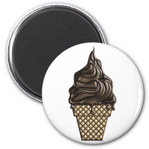 Chocolate Ice Cream Day June 7 Magnet