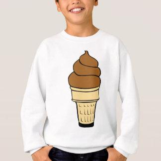 Chocolate Ice Cream Drawing Sweatshirt