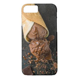 Chocolate ice cream iPhone 7 case