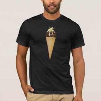 Chocolate Ice Cream Mens T-Shirt