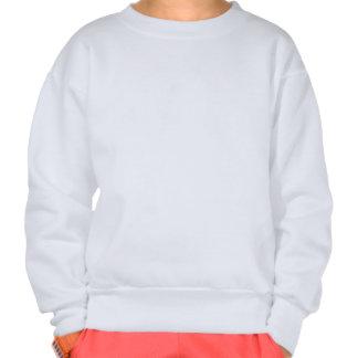 Chocolate Ice Cream Polka Dots Dream Pull Over Sweatshirt