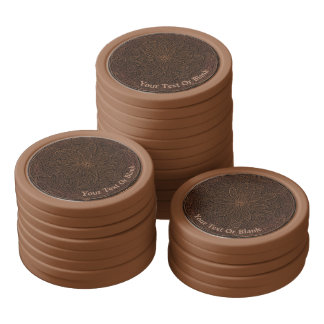 Chocolate Icing Poker Chips