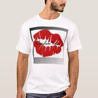 Chocolate Kisses Logo Tee