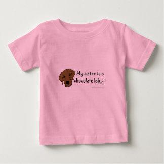 chocolate lab baby T-Shirt