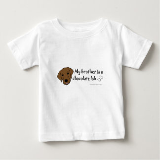 chocolate lab baby T-Shirt