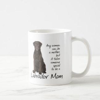 Chocolate Lab Mom Coffee Mug