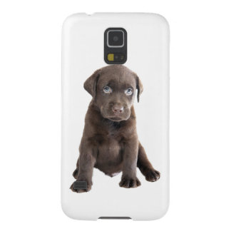 Chocolate Lab Puppy Galaxy S5 Cover