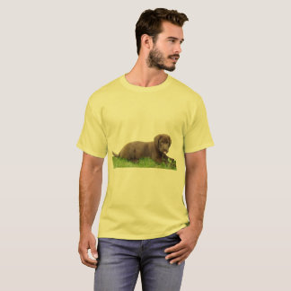 Chocolate Lab Puppy with Attitude T-Shirt