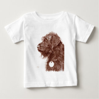 Chocolate Labradoodle Baby T-Shirt