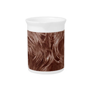 Chocolate Labradoodle Pitcher
