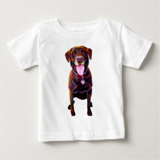 Chocolate Labrador Baby T-Shirt