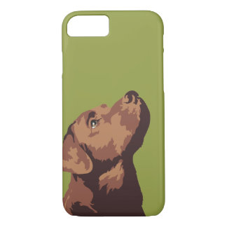 Chocolate Labrador Phone Case