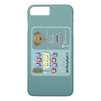 Chocolate Labrador Retriever Bowling iPhone 7 Plus Case