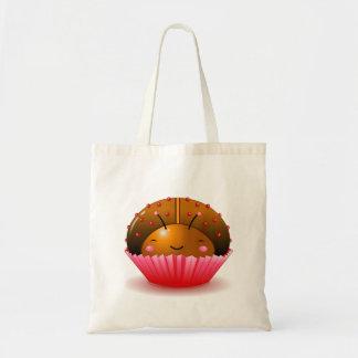 Chocolate Ladybug Cupcake Bag