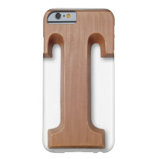Chocolate letter t barely there iPhone 6 case