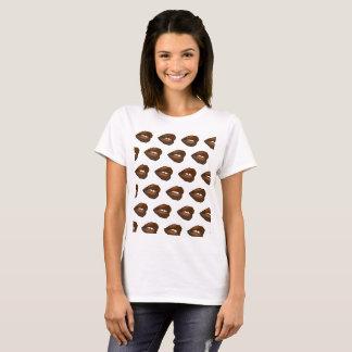Chocolate Lips Polkadot T-Shirt