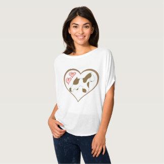 Chocolate (Liver) Parti Schnauzer Shirt