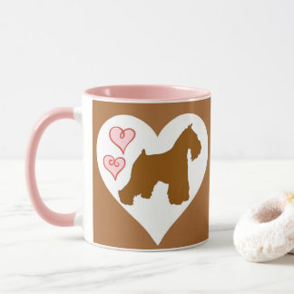 Chocolate (Liver) Schnauzer Coffee Mug