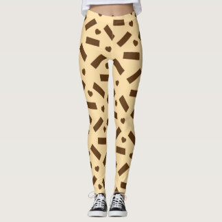 Chocolate Love Bar Leggings