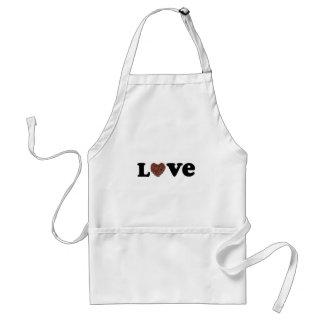 chocolate love standard apron