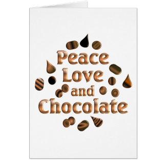 Chocolate Lover Card