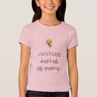 chocolate lover funny shirt