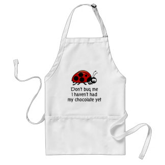 Chocolate Lover Ladybug Apron