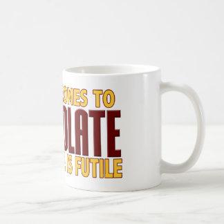 Chocolate Lovers Classic White Coffee Mug