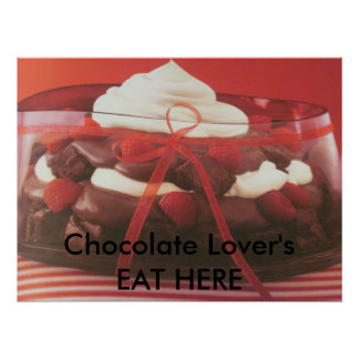Chocolate Lovers Poster