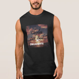 Chocolate Lush Band muscle shirt